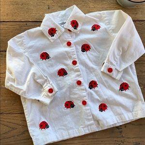Kids Vintage Ladybug Shirt